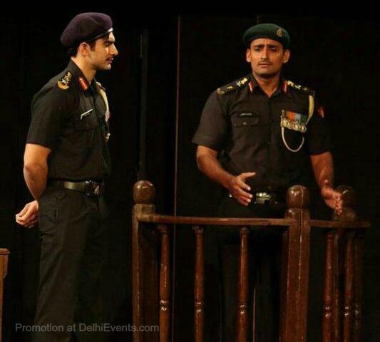 Asmita Theatre Court Martial Hindi play Still