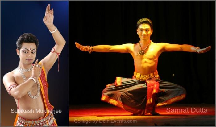 Dancers Subikash Mukherjee Samrat Dutta