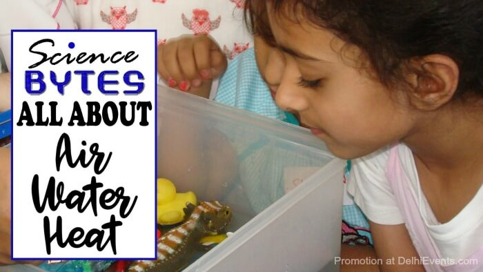 Hands On Science Bytes Air Water Heat Kids Workshop Creative