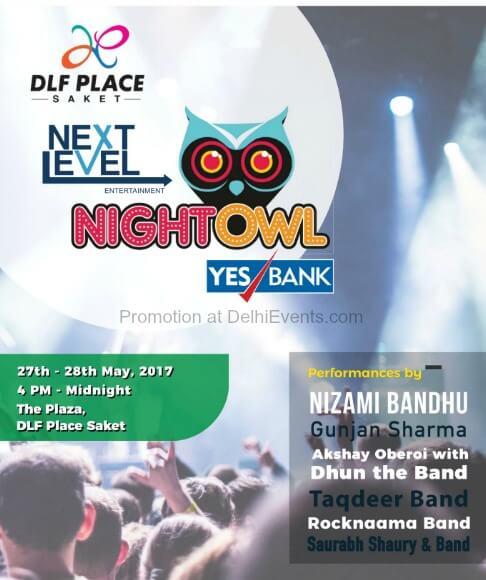 Next Level Entertainment NightOwl Shopping Food Music Festival Creative