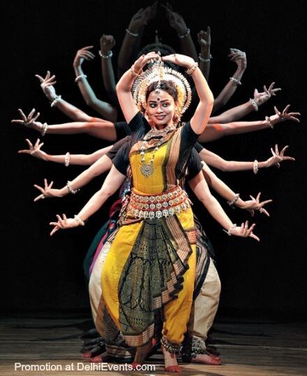 Odissi Dancer Dona Ganguly Disciples