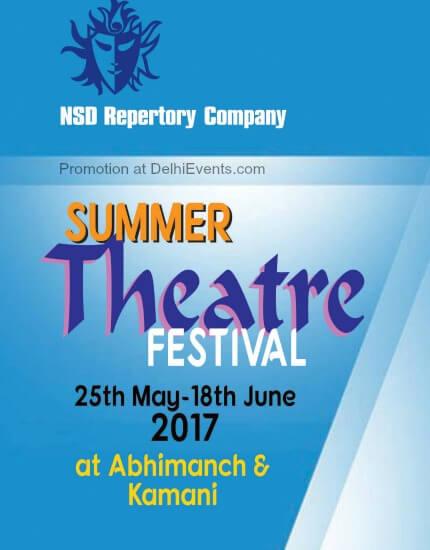 NSD Repertory Company Summer Theatre Festival 2017 Creative