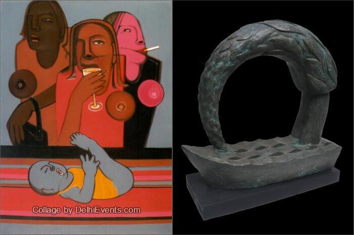 Beyond Mind Art Family National art show Artworks