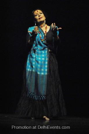 Dancer Dr. Sonal Mansingh