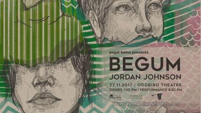 Songbird Sessions Begum Jordan Johnson Oddbird Theatre Foundation Creative