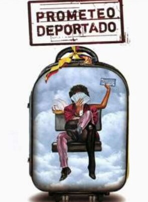 Prometeo Deported Spanish Film Poster