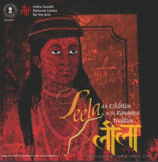 Leela Ramayana Tradition IGNCA Exhibition Creative