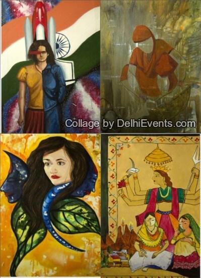 Voices group art show Vivanta Taj Artworks