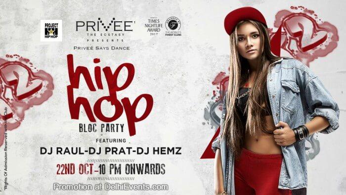 HipHop Bloc Party DJ Raul Prat Hemz Privee Creative