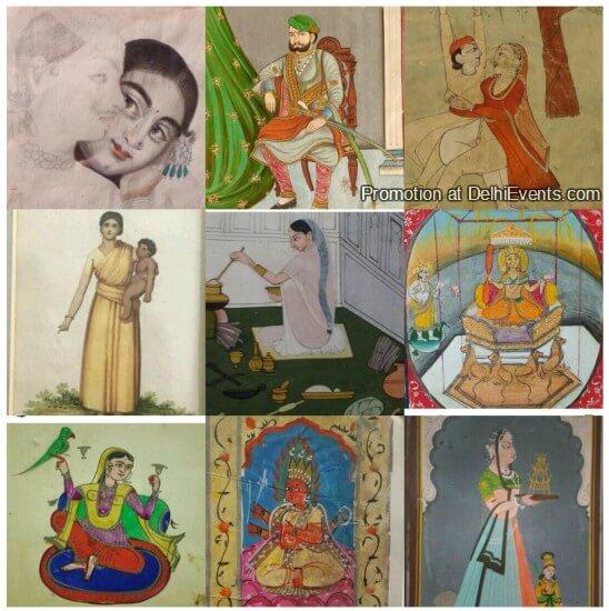 Navratana Hifazat Exhibition Paintings