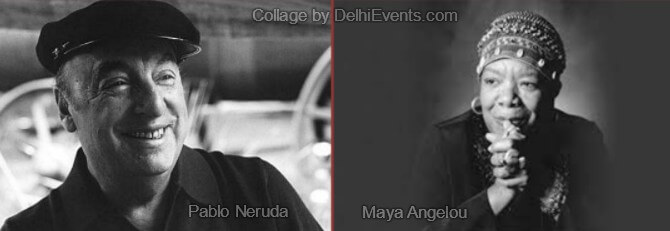 Poets Pablo Neruda Maya Angelou