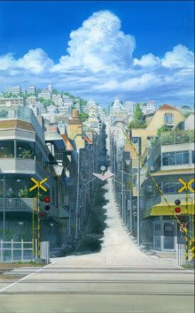 Railroad Crossing Artwork Nizo Yamamoto