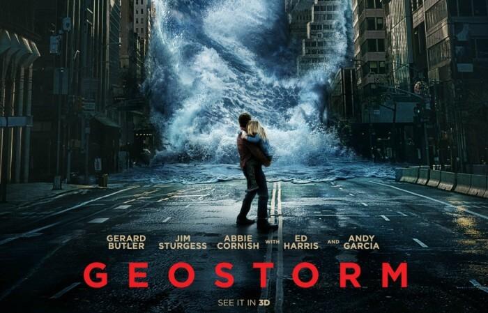 Geostorm 3D Sci-Fi English Poster