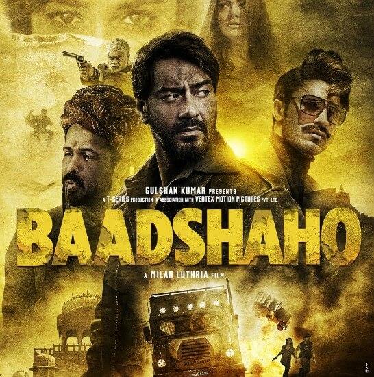 Baadshaho Movie Poster