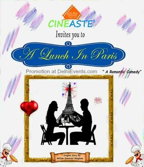 Cineaste Lunch Paris Hindi Comedy Play Creative