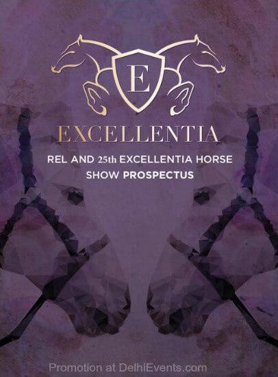 25th Excellentia Horse Show Creative