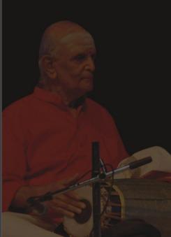 Guru Shri Umayalpuram K. Sivaraman Mridangam