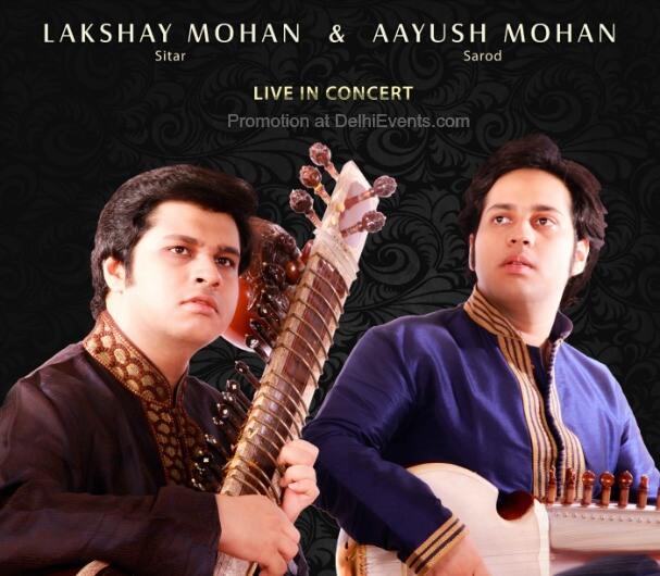 Sitar Sarod Lakshay Aayush Mohan