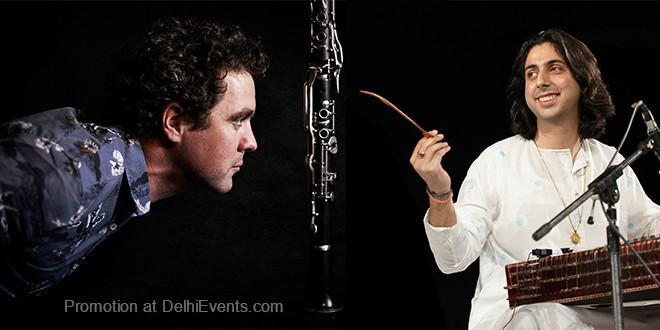 Laurent Clouet Clarinet Abhay Rustum Sopori Santoor Musicians