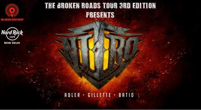 Nitro tour India Hard Rock Cafe Creative