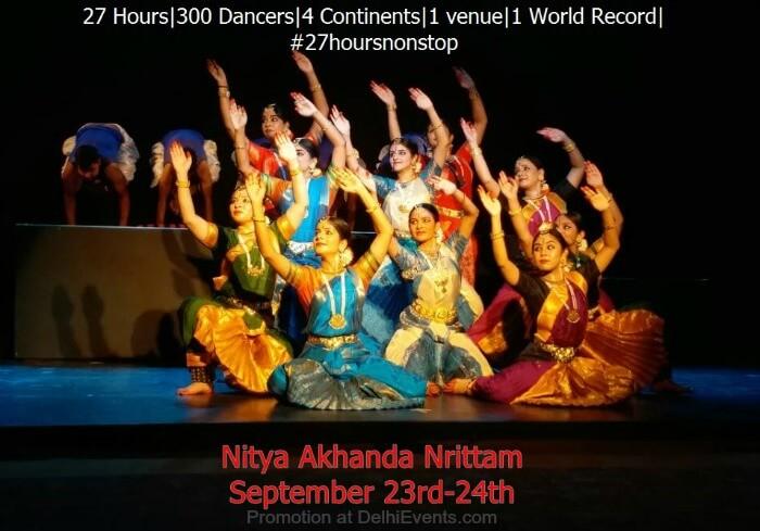Nitya Akhanda Nrittam Ganesa Natyalaya Dance Fest Creative