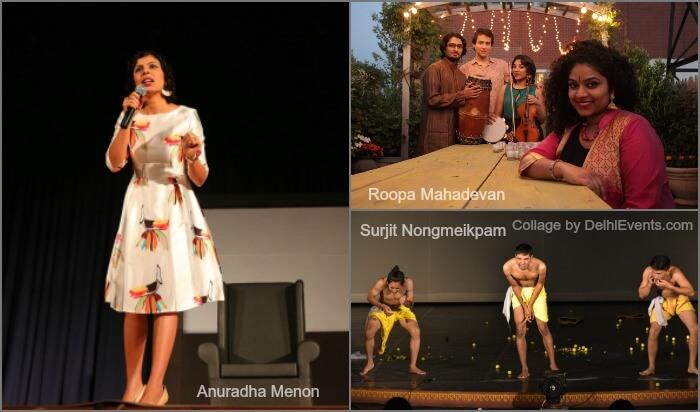 Park Festival 2017 Artists Anuradha Menon Roopa Mahadevan Surjit Nongmeikpam