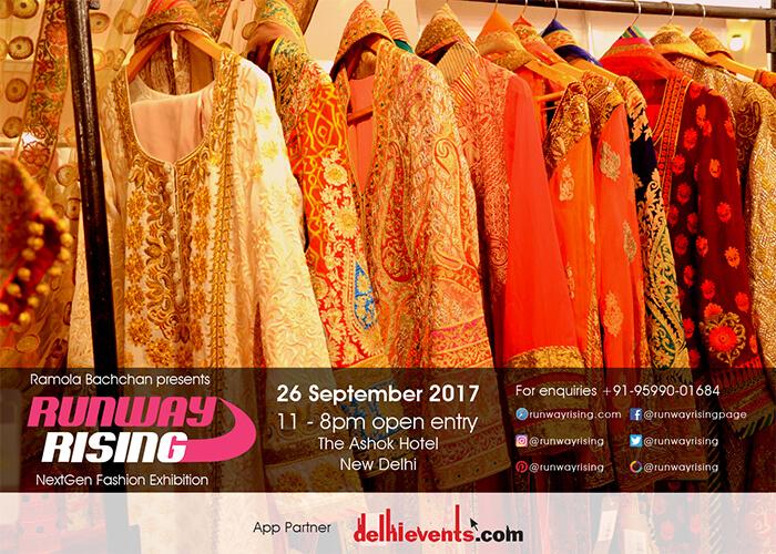Ramola Bachchan Runway Rising 2017 Ashok Hotel Creative