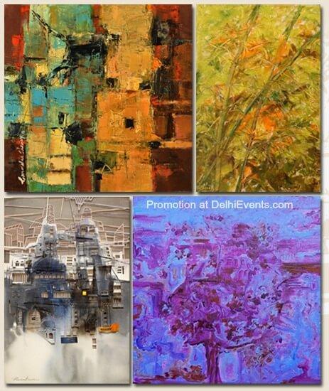 Terra Firma group show Gurudas Shenoy Milind Nayak Praveen Kumar Shirley Mathew Exhibition Artworks