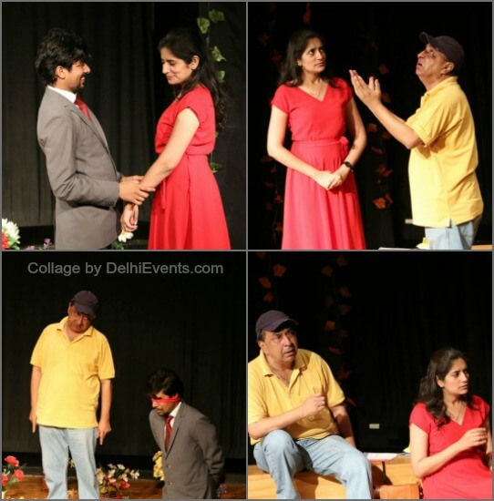 Ticket Heaven English comedy play Saleem Shah Stills