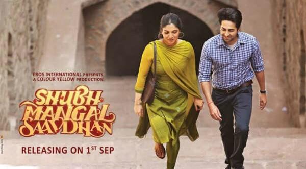 Shubh Mangal Saavdhan Comedy Film Ayushmann Khurrana Bhumi Pednekar