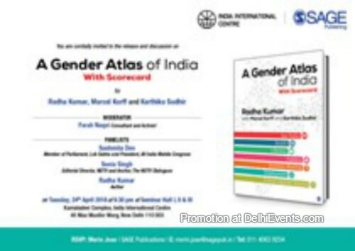 BOOK DISCUSSION Gender Atlas India IIC Creative