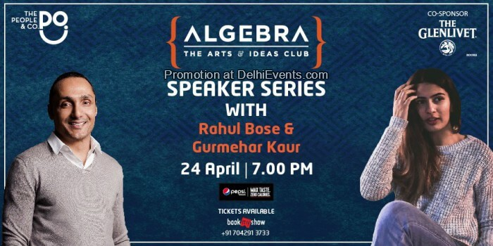 Algebra Speaker Session Rahul Bose Gurmehar Kaur People Co Creative