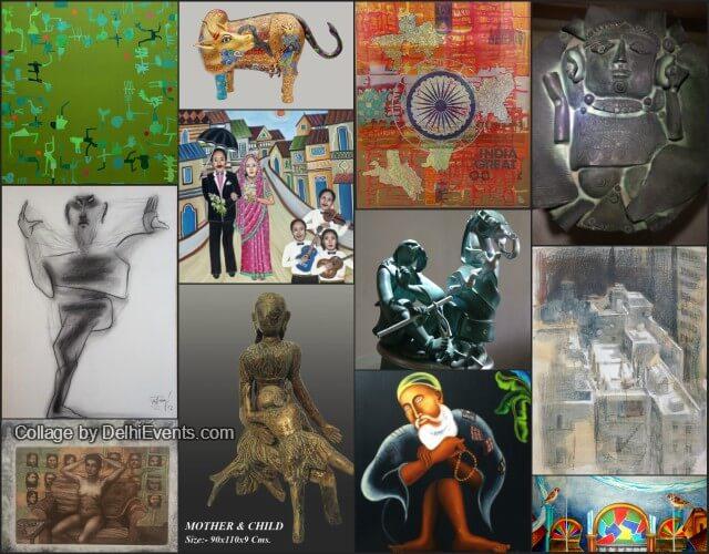 India 70 Group Exhibition Gargi Seth Artworks