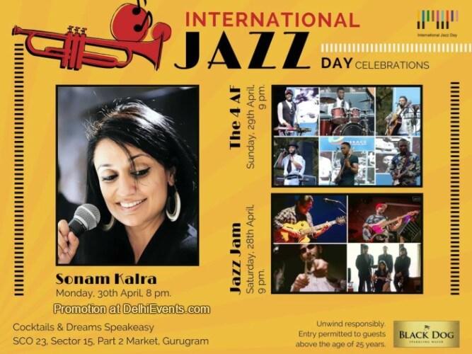 International Jazz Day Celebrations Speakeasy Creative