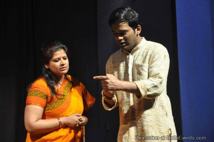 Khamosh Adalat Jari Hai Saksham Theatre Play Still