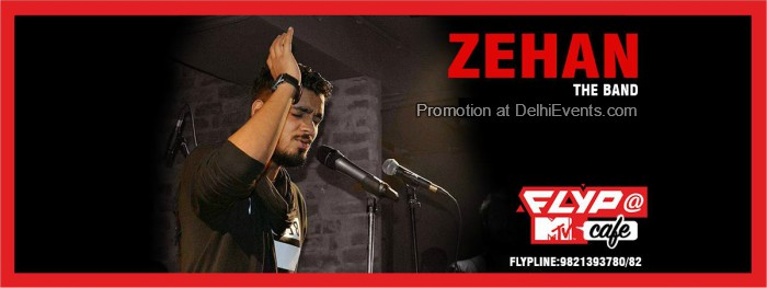 MTV Unplugged Nights Zehan Band Flyp MTV Cafe Creative