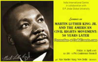 Martin Luther Kin Jr American Civil Rights Movement 50 Years Later Talk Creative