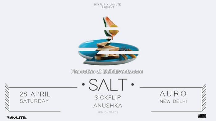 SALT 002 SickFlip Anushka Auro Kitchen Bar Creative