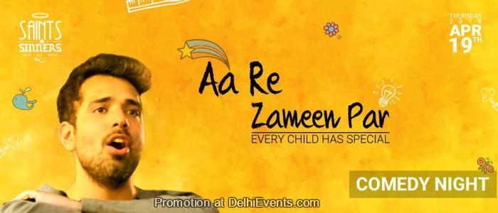 Aa Re Zameen Par stand-up comic act Shivam Lakhanpal Creative