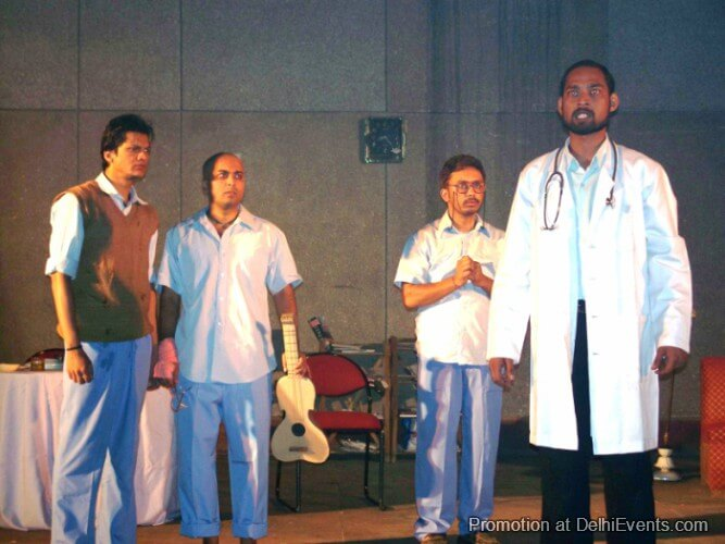 Saksham Theatre Physicist Hindi Comedy Play Still