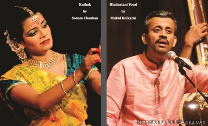 Vocalist Mukul Kulkarni Kathak Dancer Sonam Chauhan Performers