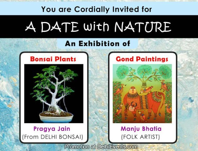 Uchaan Art Group Date Nature Group show paintings bonsai plants pragya manju Creative