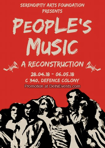 People Music Reconstruction Serendipity Arts Foundation Creative