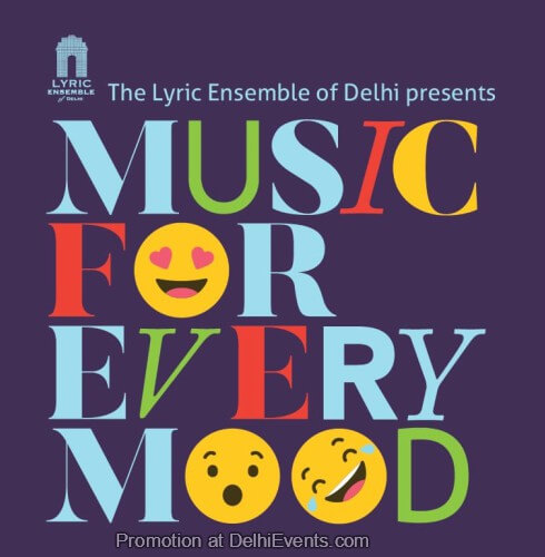 Lyric Ensemble Delhi Music Every Mood India Habitat Centre Creative