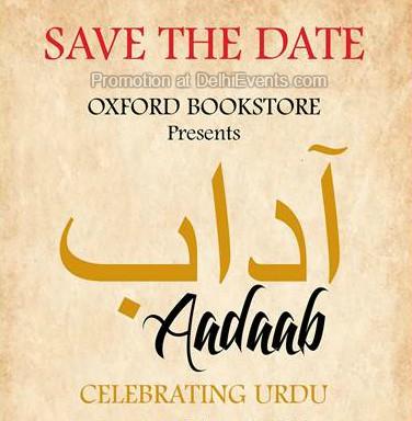 """Oxford Bookstore Aadaab Celebrating Urdu Creative"