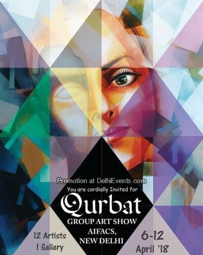 Qurbat group show artworks Meraki Art House Chandni Gulati AIFACS Creative