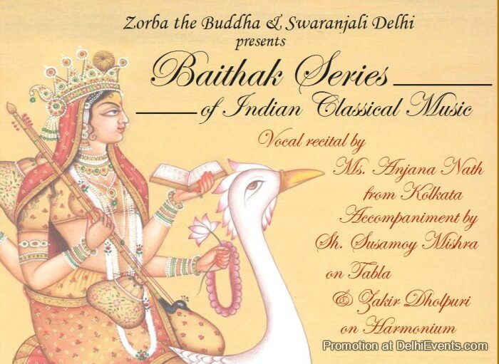 Baithak Series Indian Classical Music Zorba Buddha Creative