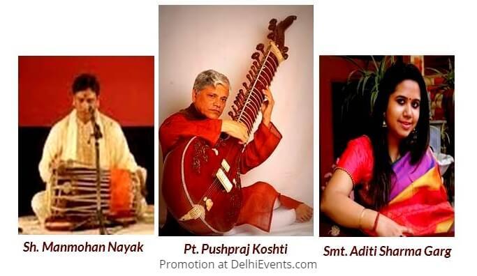 9th Dhrupad Sabha Musicians