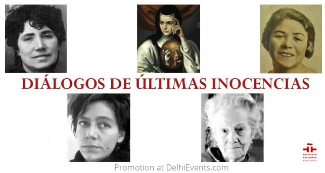 Art poetry Dialogues Last Innocences Instituto Cervantes Creative