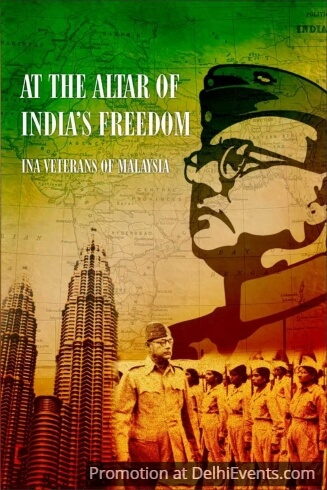 Altar India Freedom INA Veterans Malaysia Film Poster